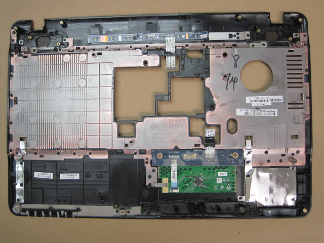 Toshiba Satellite A665 S5170 front bezel cover touchpad palmrest new